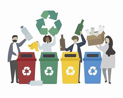 Recycling Waste Illustration Vector Clipart Vectors Graphics
