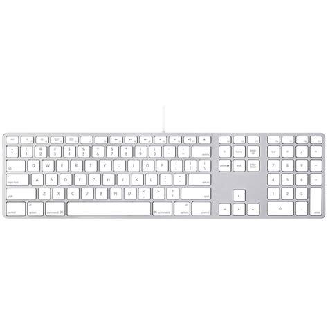 clavier avec port usb apple keyboard mb110lb b clavier pc apple sur ldlc