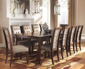 wood dining room sets formal dining room sets for 8 homesfeed