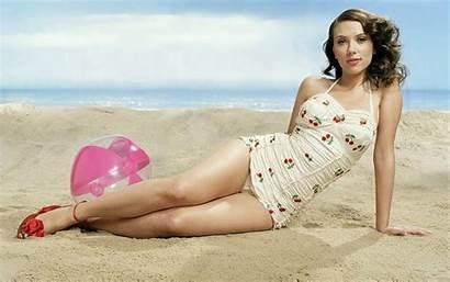 Scarlett Johansson Wallpapers Swimsuit Bikini Swimwear Wallpapersafari