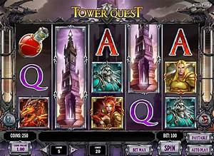 Tower Quest slot roleplayingthemed game Play'n Go