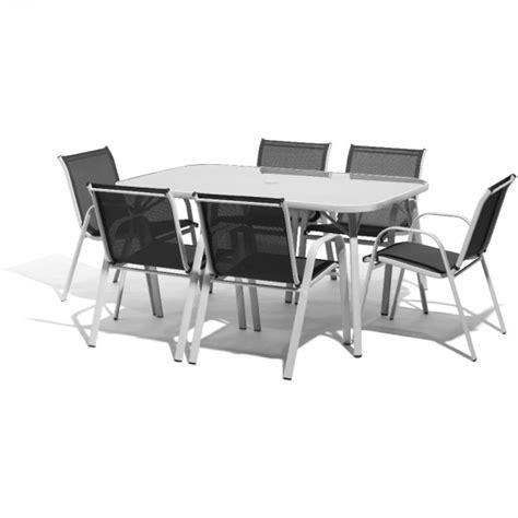 salon de jardin 6 personnes salon de jardin 6 personnes m 233 tal gris table chaise salon de jardin mobilier de jardin
