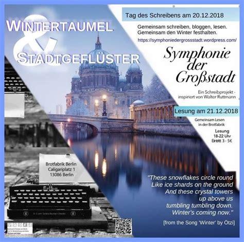 Symphonie Der Stadt by Gratis In Berlin Symphonie Der Gro 223 Stadt Eine