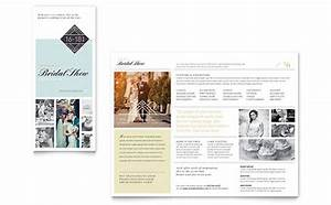 Christmas Poster Template Word Bridal Show Brochure Template Design