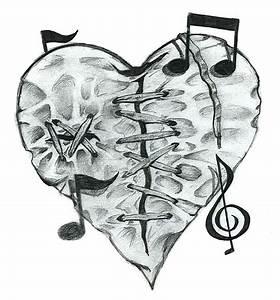 Pretty Broken Heart Drawings | www.pixshark.com - Images ...