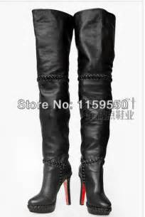womens size 12 thigh high boots aliexpress popular thigh high boots size 12 in shoes