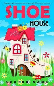 Children Book cover Design - Shoe House