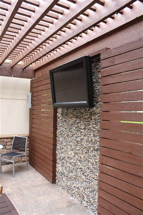 Pergola Screen Wall  Modern  Patio  Atlanta  By My