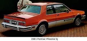 1982-1984 Pontiac Phoenix Sj  Se