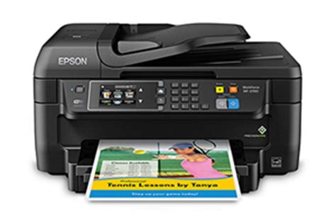 For my tests, i connected it using its ethernet port and installed the drivers and other software on a system running windows vista. Epson Updates Home-Office Inkjets with New WorkForce WF ...