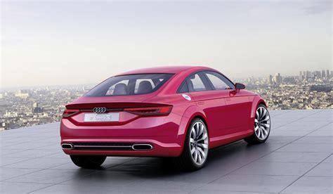 Paris Live Audi Tt Sportback Concept