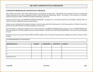 quality assurance plan templatereference letters words With free quality assurance policy template