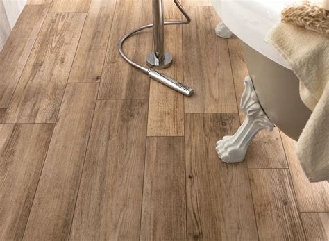 wood porcelain tile bathroom wood look tiles