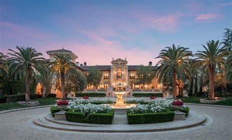 million italian inspired mega mansion  beverly hills california homes   rich