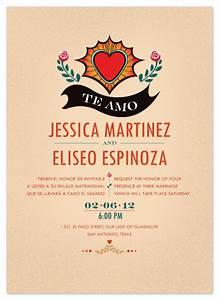 wedding invitations latin heart of love at mintedcom With the wedding invitation online latino