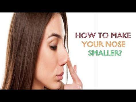 nose smaller naturally  makeup