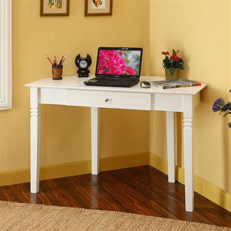 bedroom desk with drawers corner desks for small spaces white corner desk with one