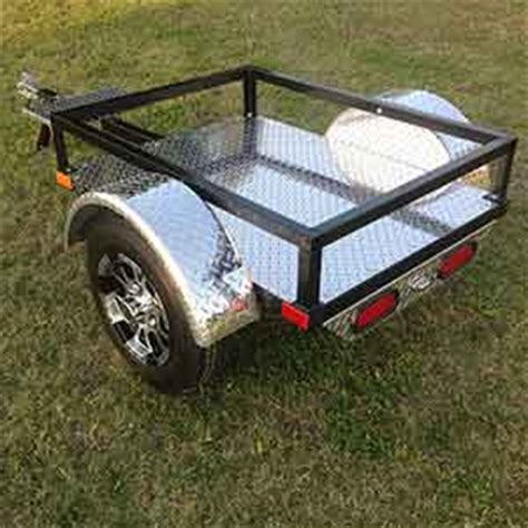 small pull cers usa built enclosed aluminum pull behind motorcycle trailers for sale