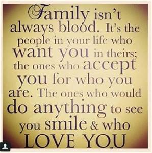 Family Is Alway... Family Blood Quotes