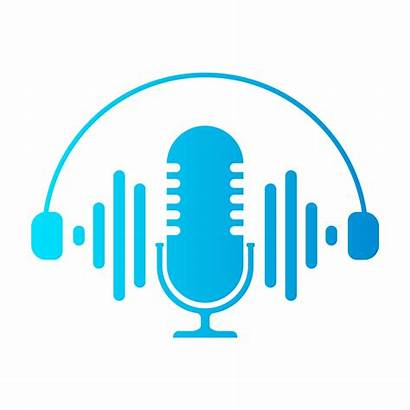 Radio Background Microphone Icons Illustration Vector Announcement