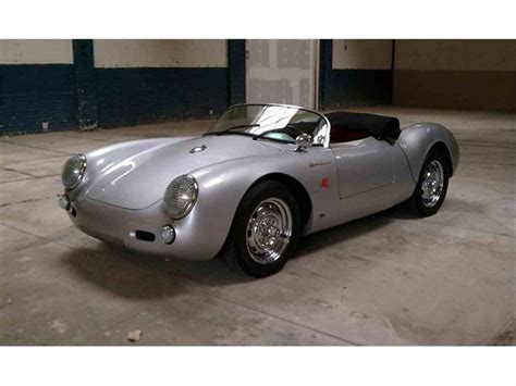 55 Porsche Spyder by 1955 Porsche 550 Spyder Replica For Sale Classiccars