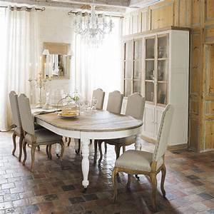Table Salle à Manger Maison Du Monde : table manger extensible roulettes 6 14 personnes l125 325 meubles1 pinterest ~ Teatrodelosmanantiales.com Idées de Décoration