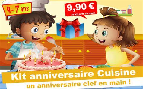 anniversaire cuisine kit anniversaire panique en cuisine 4 7 ans maxi