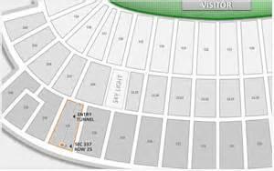 inspirational  bank stadium seating chart  rows  seat numbers  neyland stadium