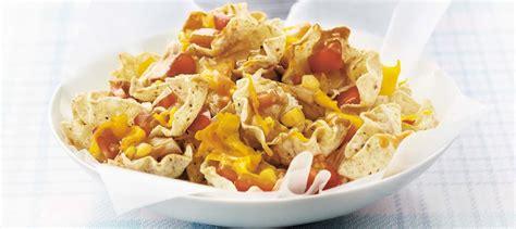 cuisiner du saumon frais nachos au poulet en famille recette plaisirs laitiers