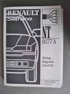 Renault Safrane Wiring Diagrams Manual 2000 End Of Life