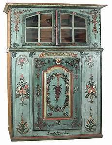 buffet ancien peint amazing vitrine rgence de meubles With peinture sur meuble ancien