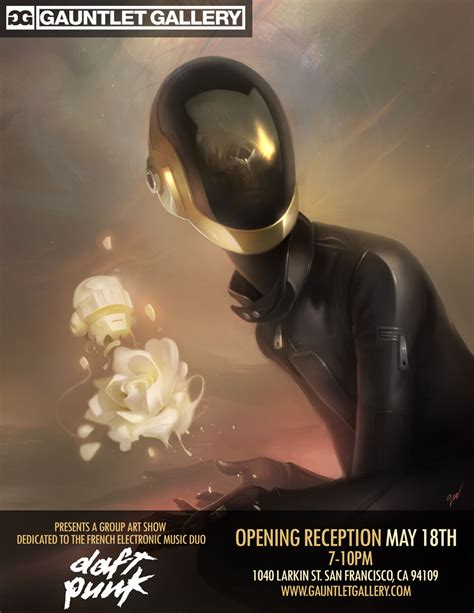 daft punk shows daft punk inspired art show by gauntlet gallery