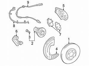 Ford Thunderbird Disc Brake Pad Set  Front