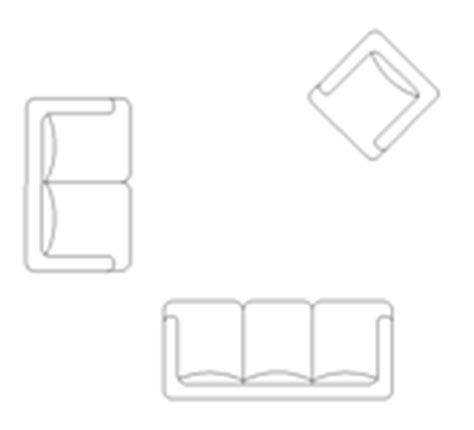 canapé fauteuil dwg blocscad com