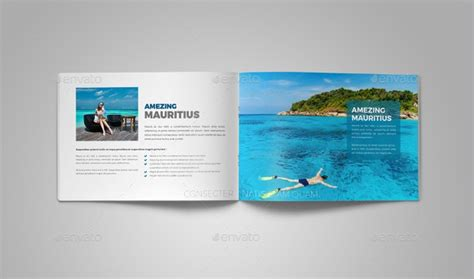 travel agency brochures  psd ai indesign