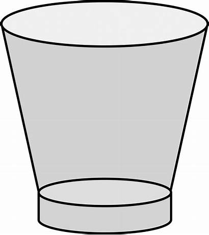 Empty Cup Clipart Glass Cliparts Zone Transparent