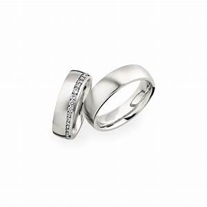 Matching pair graduated diamond wedding rings christian for Wedding ring christian
