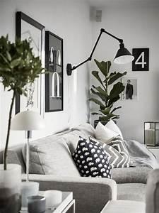 Modern, Living, Room, Plants
