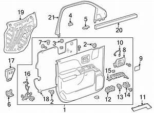 Chevrolet Silverado 3500 Hd Door Wiring Harness  Regular