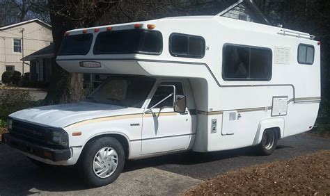 Toyota Motorhomes For Sale by 1983 Toyota Sunrader 21ft Cer Motorhome For Sale In In