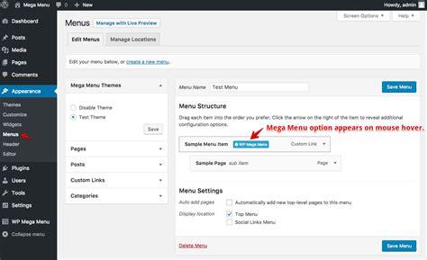 How To Create A Mega Menu On Wordpress?