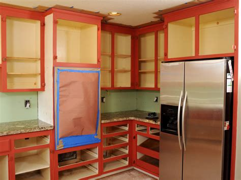 how to paint inside kitchen cabinets how to paint kitchen cabinets in a two tone finish how