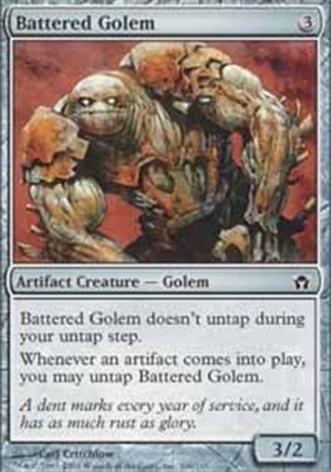 Magic The Gathering Golem Deck by Bosh Mtg