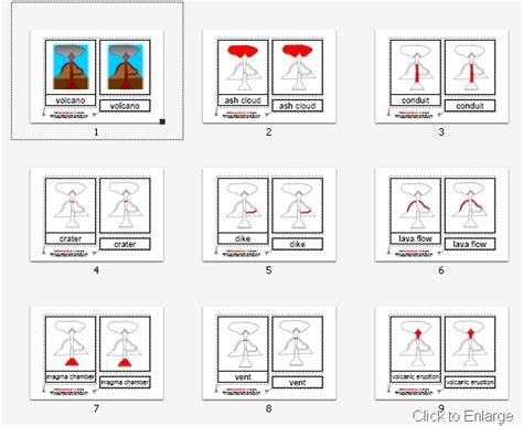 parts   volcano worksheet printable   worksheet