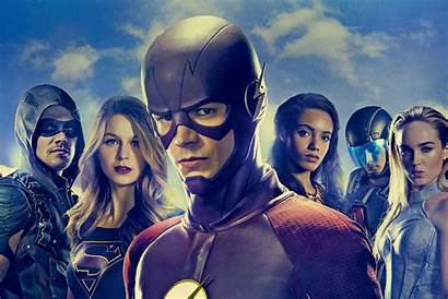Flash Tv Arrow Supergirl Series Wallpapers Shows