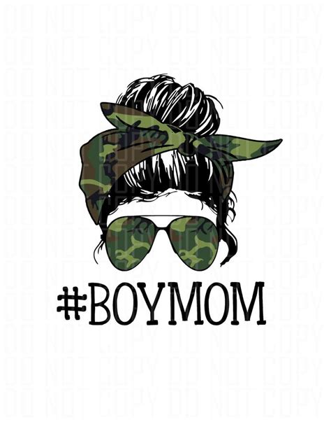 All free downloads on svg & me are for personal use only. Boy mom messy bun Aviator glasses Digital Design PNG image ...