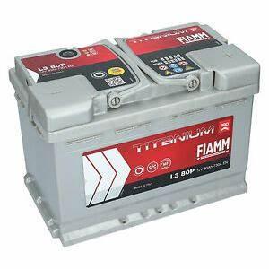 Batterie 74 Ah : autobatterie 12v 80ah 730a en fiamm pro premium batterie ~ Jslefanu.com Haus und Dekorationen