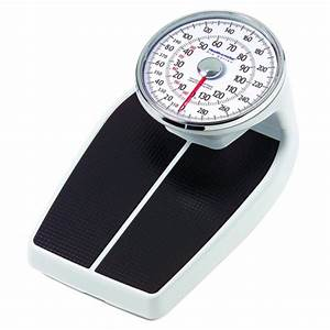 health o meter pro series large raised dial scale at With health o meter bathroom scale
