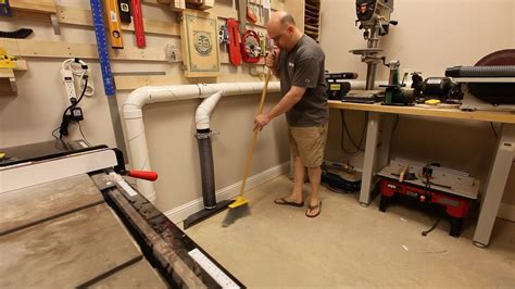 installing  automated dust collection system