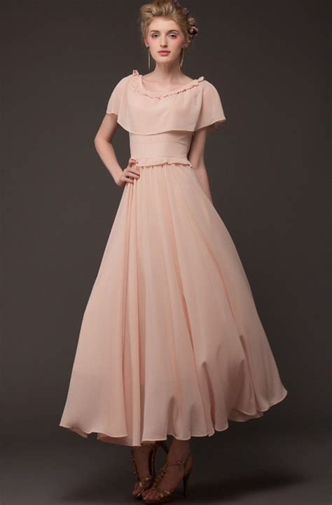 cape maxi 2 pink cape vintage pleated maxi dress abaday